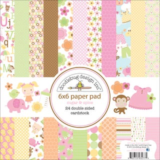 Doodlebug Sugar & Spice Paper Pad