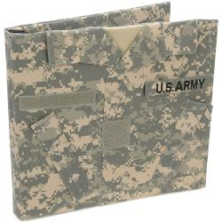 U.S. Army Keepsake Post Bound Album 12X12in-ACU Camo