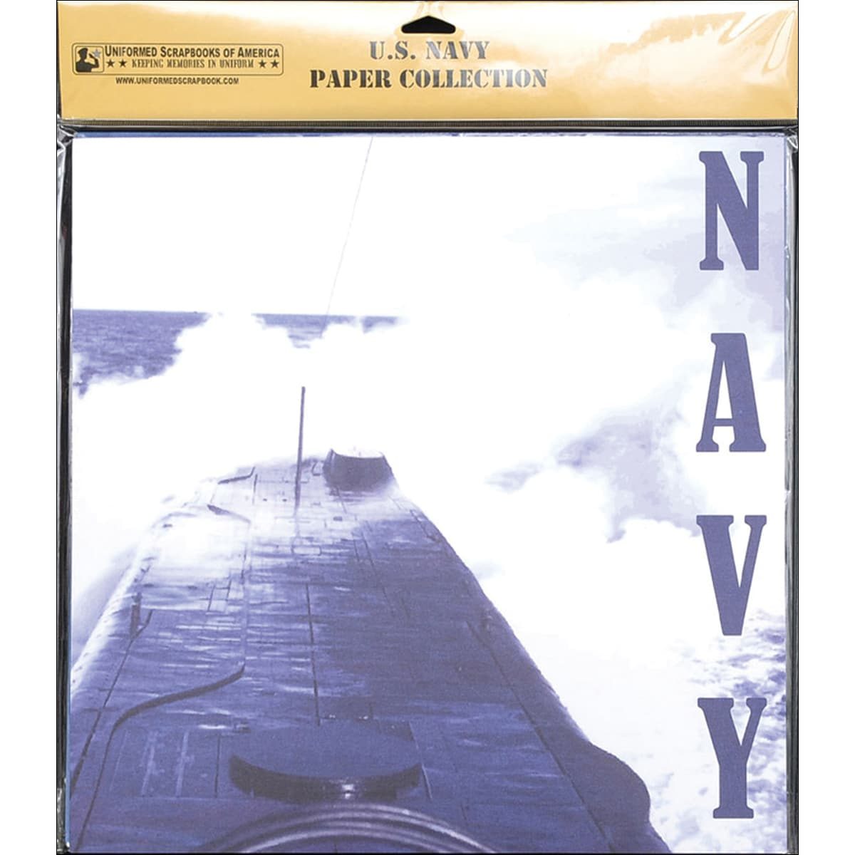 U.S. Navy Scrapbook Paper Pack 20/Pkg 12inX12in