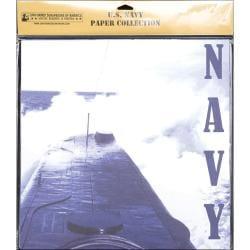 U.S. Navy Scrapbook Paper Pack 20/Pkg 12inX12in