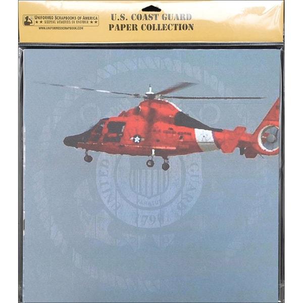U.S. Coast Guard Scrapbook Paper Pack 20/Pkg 12X12in