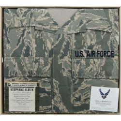 "U.S. Air Force Keepsake Post Bound Album 12""X12""-Tiger Stripe"