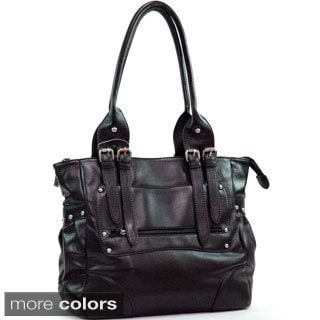 Dasein Double Handle Tote Bag