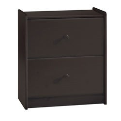 Popsicle Espresso 2-drawer Dresser