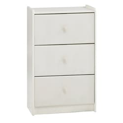 Popsicle White 3-drawer Dresser