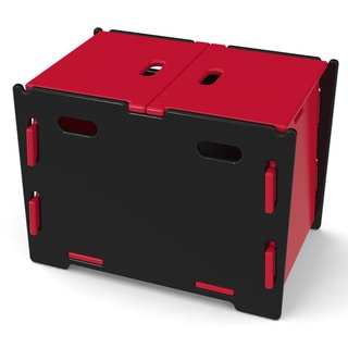 Legare Kids Red/ Black Toy Box