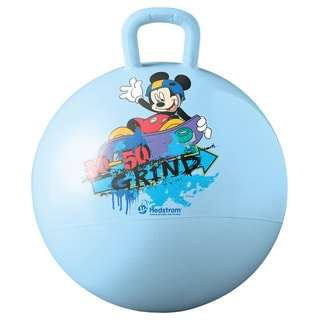 Disney 15-inch Mickey Mouse Blue Vinyl Hopper - 100-pound Capacity