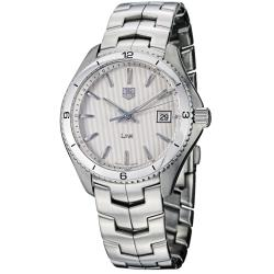 Tag Heuer Men's 'Link' Silver Dial Stainless Steel Quartz Watch