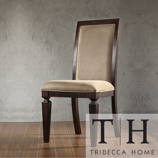 Tribecca Home Arendal Microfiber Chairs (Set of 2)