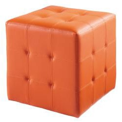 Sunpan 'Dario' Faux Leather Square Ottoman
