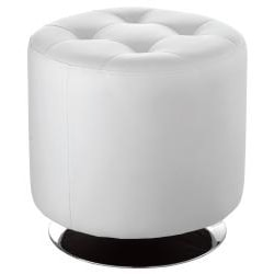 Sunpan 'Domani' Small Faux Leather Swivel Ottoman