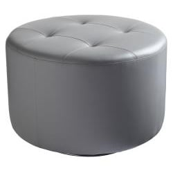Sunpan 'Domani' Large Faux Leather Swivel Ottoman