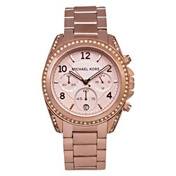 Michael Kors Women's MK5263 'Blair' Chronograph Rosegold Watch