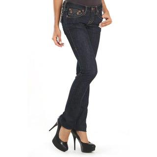 Laguna Beach Women's 'Hermosa Beach' Raw Blue Slim Fit Jeans