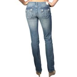 Laguna Beach Women's 'Hermosa Beach' Light Blue Slim Fit Jeans