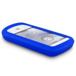BasAcc Blue Silicone Skin Case for HTC Magic/ T-Mobile MyTouch 3G