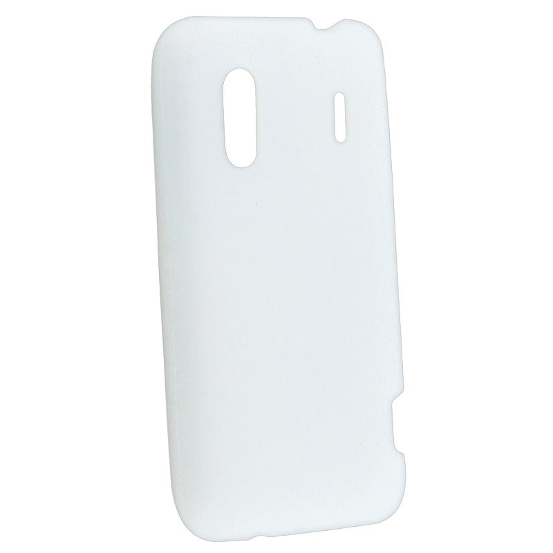 BasAcc Clear White Silicone Skin Case for HTC EVO Design 4G