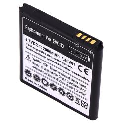 BasAcc Compatible Li-Ion Battery for HTC EVO 3D
