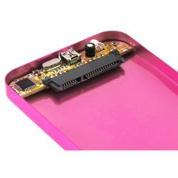 Hot Pink 2.5-inch SATA HDD Enclosure
