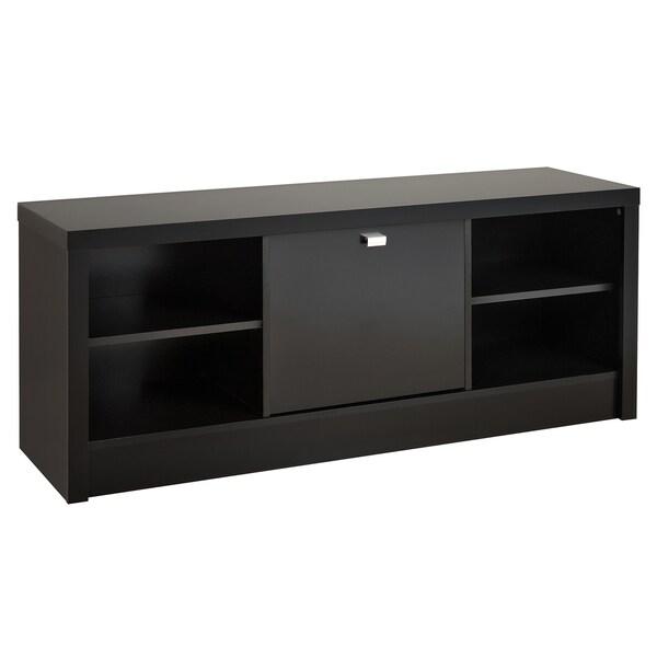Black Valhalla Designer Series Cubbie Bench with Door