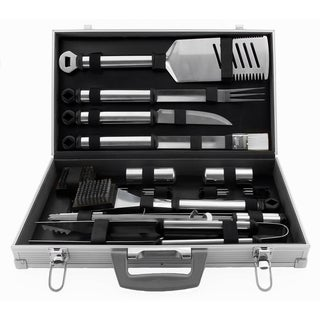 Mr. Bar-B-Q Stainless Steel 21-piece Tool Set