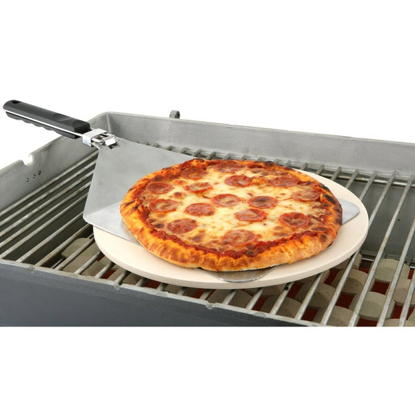 Mr. Bar.B.Q Grill Stone Pizza Set
