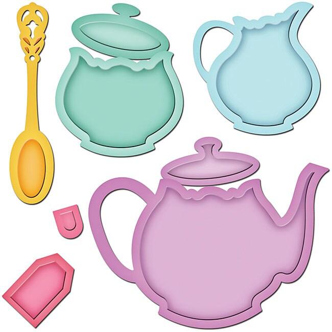 Spellbinders 'Tea Service' Shapeabilities Dies