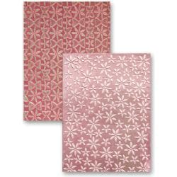 M-Bossabilities Reversible A4 Embossing Folder-Splendid