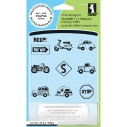 Inkadinkado 'Freeway' Inchie Clear Stamps