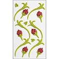 Jolee's ' Green & Red Buds Icing Flowers' Confections Stickers