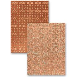 M-Bossabilities Reversible A4 Embossing Folder-Mystic