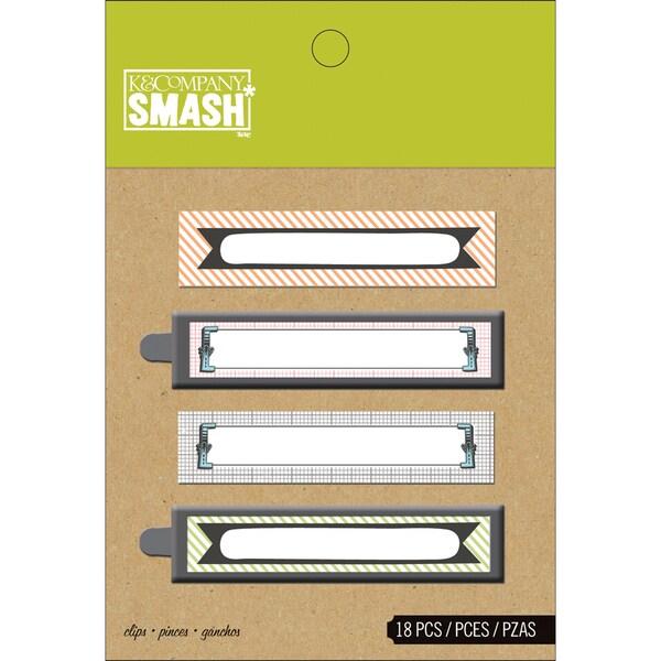 Binder SMASH Clips-18/Pkg