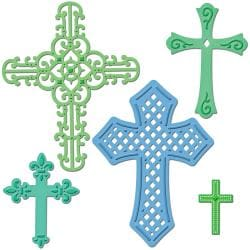 Spellbinders Shapeabilities Dies-Crosses