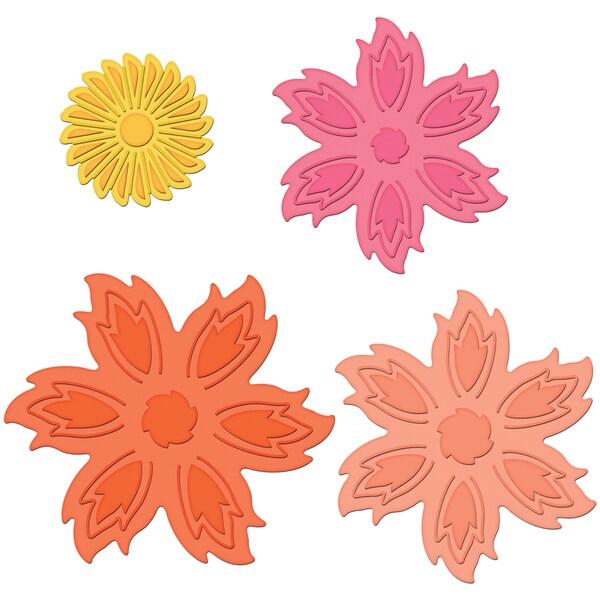 Spellbinders Shapeabilities Dies-Aster Flower Topper