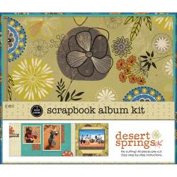 1 Hour Album Scrapbook Kit 8X8in-Desert Spring
