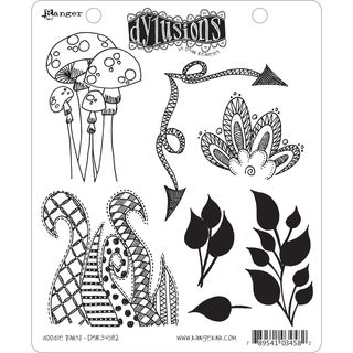 Dyan Reaveley's Dylusions Cling Stamp Collection-Doodle Parts