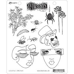 Dyan Reaveley's Dylusions Cling Stamp Collection-Bits Of This