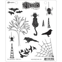 Dyan Reaveley's Dylusions Cling Stamp Collection-Bits & Bats