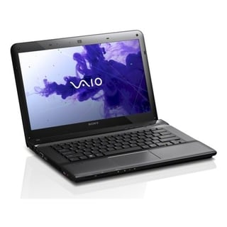"Sony VAIO E SVE14117FXB 14"" LED Notebook - Intel Core i5 i5-2450M Dua"
