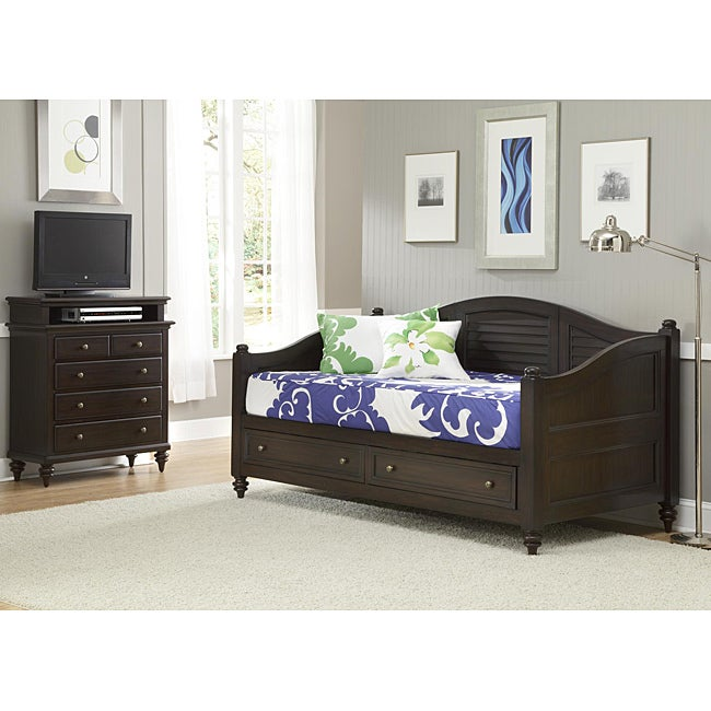 Bermuda Espresso FinishTwin-size DayBed and TV Media Chest at Sears.com