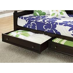 Bermuda Espresso FinishTwin-size DayBed and TV Media Chest