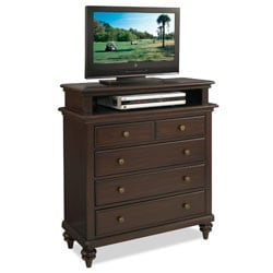 Bermuda TV Media Chest Espresso Finish