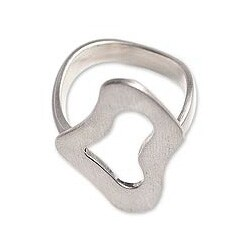 Sterling Silver 'I'm All Ears' Cocktail Ring (Mexico)