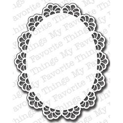 Die-Namics Die-Oval Decorative Doily