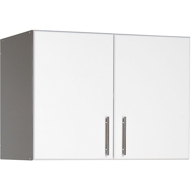 Winslow White 32-inch Elite Stackable Wall Cabinet