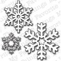 Die-Namics Die-Let It Snowflake