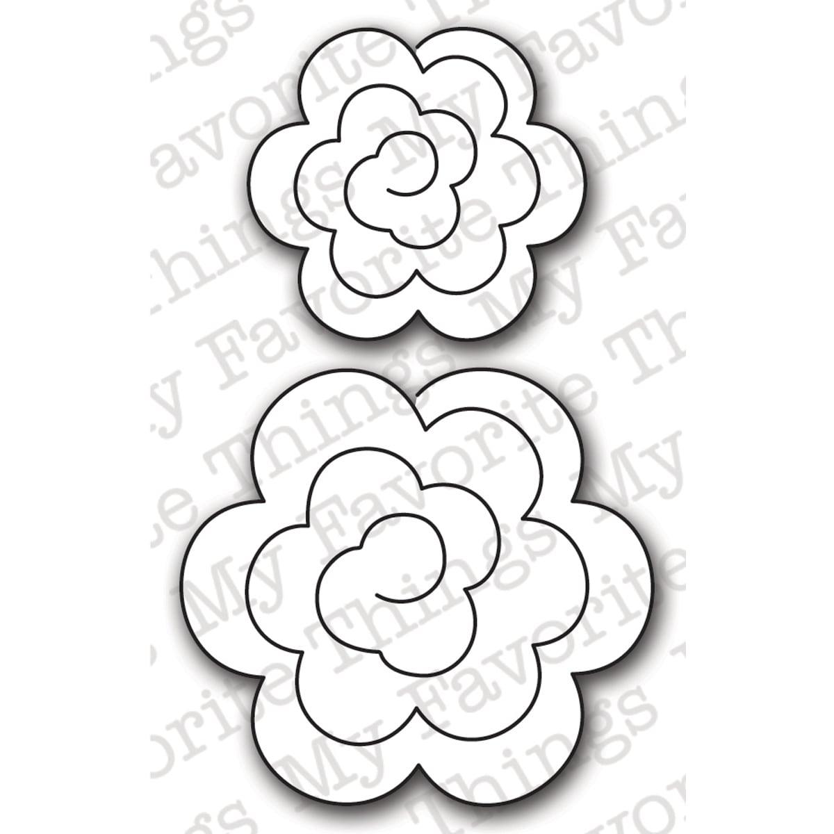 Die-Namics Die-Mini Rolled Roses