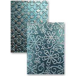 M-Bossabilities Reversible A2 Embossing Folder-Whimsy