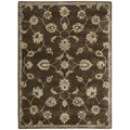 Nourison Hand-tufted Superlative Brown Rug (9'6 x 13'6)