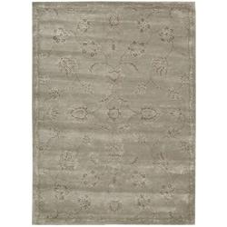 Nourison Hand-tufted Superlative Grey Rug (9'6 x 13'6)